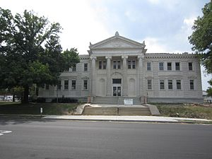 National Register of Historic Places listings in Pettis County, Missouri - Image: Carnegie Public Library Sedalia Missouri