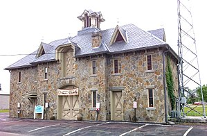 Jackson Mansion and Carriage House - Image: Carriage house in Berwick PA
