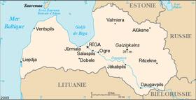 Géographie de la Lettonie — Wikipédia