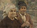 Casal de camponeses (1902) - José de Almeida e Silva.png