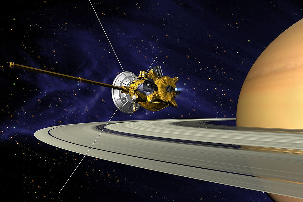 Cassini Saturn Orbit Insertion