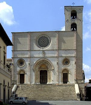 Todi Cathedral - West front