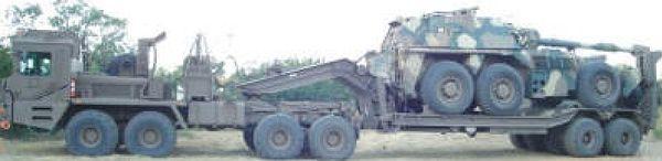 Cavallo G6 artillery transporter