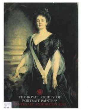 Royal Society of Portrait Painters - Centenary Catalogue Cover - The Royal Society of Portrait Painters