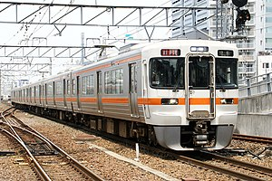 313 series - 313-5000 series 6-car set, May 2009
