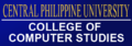 Central Philippine University College of Computer Studies Banner.png