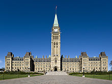 Parliament Hill's Centre Block