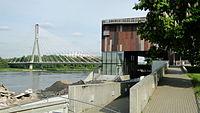 Kopernik Science Centre, Świętokrzyski Bridge and National Stadium
