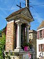 Cergy (95), niche de Sainte-Barbe (anciennement N.D. de Lorette), Gency.jpg