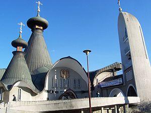 Hajnówka - Orthodox Holy Trinity's Church (1981)