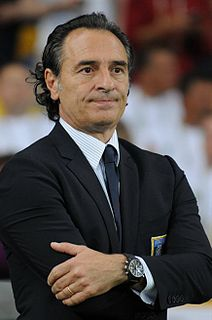 Cesare Prandelli Italian footballer and manager