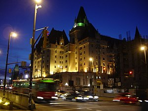 Canada's grand railway hotels - The Château Laurier in Ottawa.