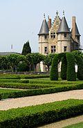 Château angers jardin châtelet
