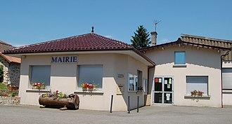 Chaillac-sur-Vienne - The town hall in Chaillac-Sur-Vienne