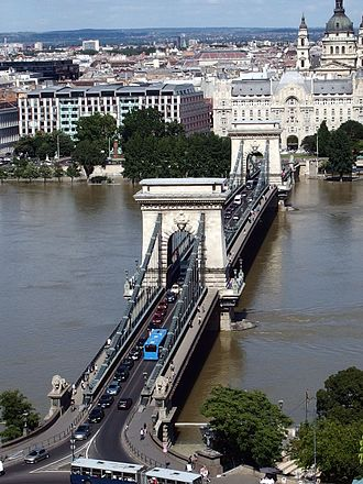 Adam Clark (engineer) - The Széchenyi Chain Bridge