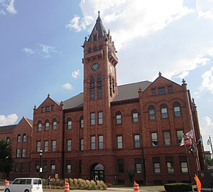 The Champaign County Courthouse in Urbana