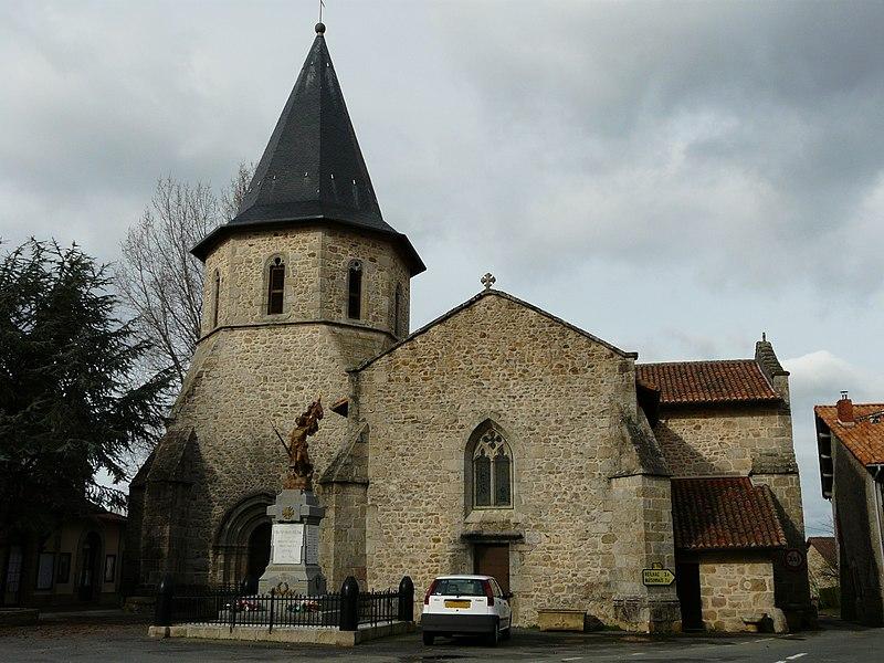 Champniers France  city photo : Champniers Reilhac église Champniers Wikimedia Commons