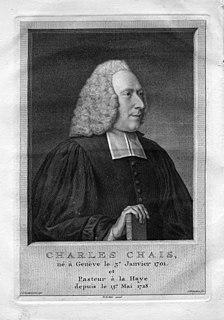 Charles-Pierre Chais Genevan pastor, translator and writer