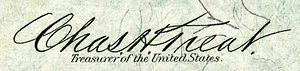 Charles H. Treat - Image: Charles Henry Treat (Engraved Signature)