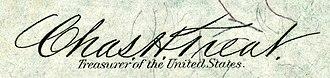 Charles H. Treat - Image: Charles Henry Treat (Engraved Signature)