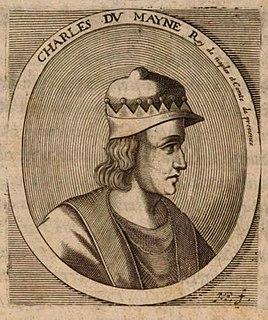 Charles IV, Duke of Anjou French noble