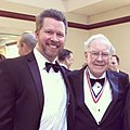 Charles Jensen with Warren Buffett (25300907081).jpg
