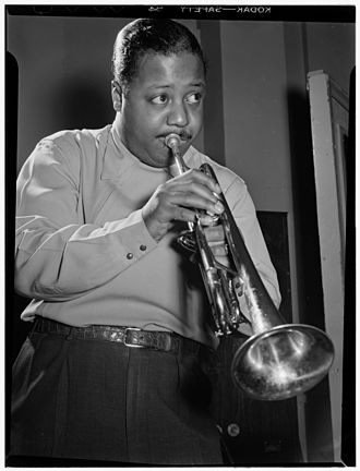 Charlie Shavers - Shavers, National Studios, May 1947  Photography by William P. Gottlieb