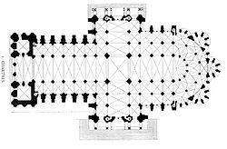 Chartres floorplan