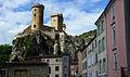 Chateau de Foix vu de la Halle aux Grains.jpg