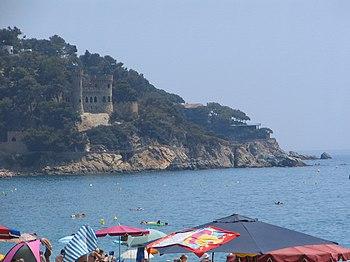 Chateau de lloret de mar