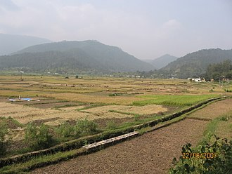 Chaukhutia - Vairat valley as seen from Chaukhutia-Maasi road