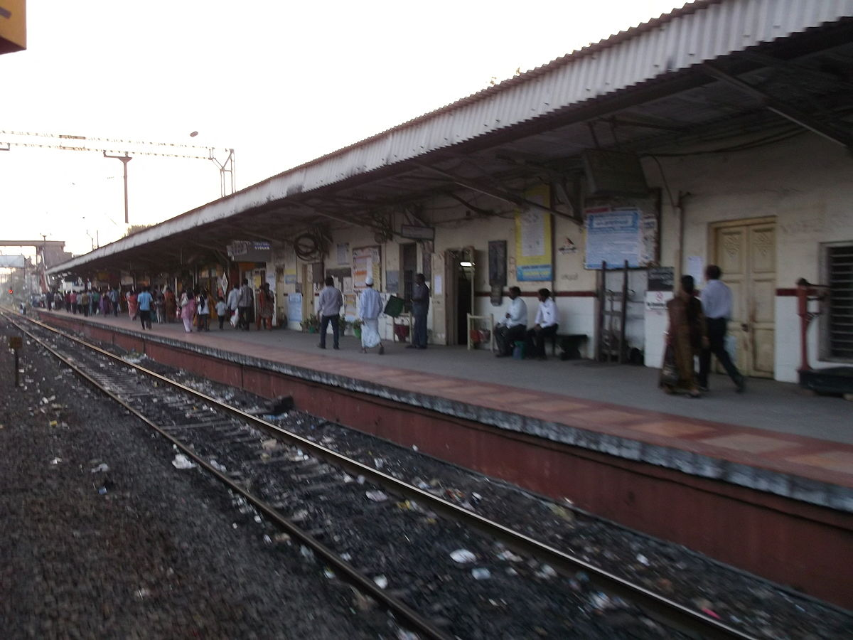 Pallavaram railway station - Wikipedia