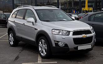 GM Korea - Image: Chevrolet Captiva LTZ 2.2 D 4WD (Facelift) – Frontansicht, 18. März 2012, Wuppertal