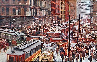 Chicago Loop - In 1900