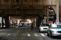 """Chicago (ILL) Downtown, W Van Buren St. """" under the Loop, cabs """" (4824265162).jpg"""