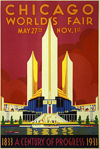 Chicago world's fair, a century of progress, expo poster, 1933, 2.jpg