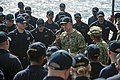 Chief of Naval Personnel Vice Adm. speaks with Sailors during an all hands call. (30674131606).jpg
