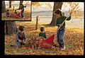 Children Raking Leaves (Missouri State Archives) (8203212399).jpg