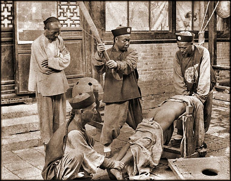 File:Chinese Punishment, Whipping A Lawbreaker (c1900) Attribution Unk (RESTORED) (4075201203).jpg