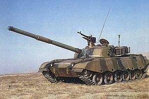 Type 96 tank - Chinese Type 85-IIM Tank, Prototype of 96 tank.