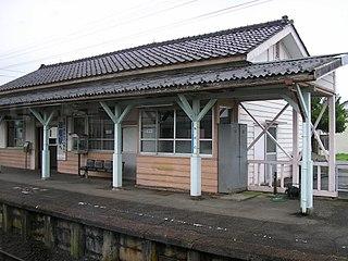 Chisato Station (Toyama) Railway station in Toyama, Toyama Prefecture, Japan