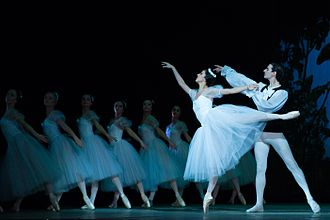 Ballet blanc - Scene from Les Sylphides