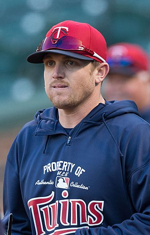 Chris Parmelee - Parmelee with the Twins in 2013