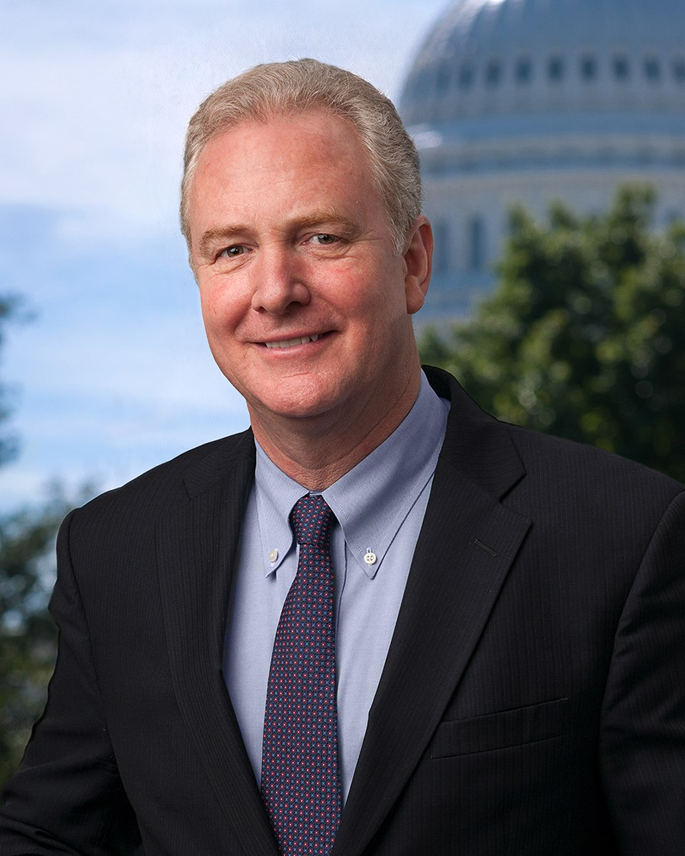 Chris Van Hollen official portrait 115th Congress
