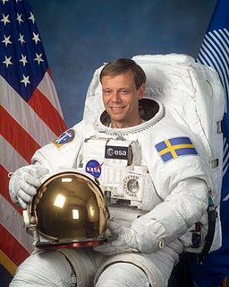 Christer Fuglesang Swedish astronaut