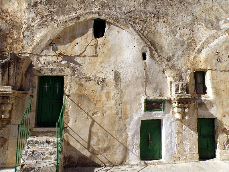 Christian quarter, Deir Es-Sultan, roof of Church of the Holy Sepulchre.jpg