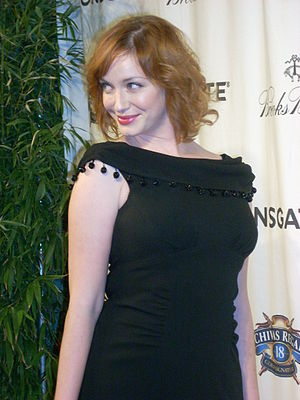 Actress Christina Hendricks at Chivas Regal Pr...