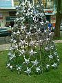Christmas Tree of Plastic Bottles.JPG