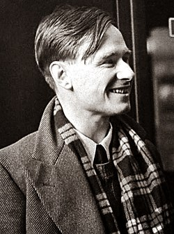 Christopher Isherwood en route to China, 1938. (7893554712) (cropped1).jpg