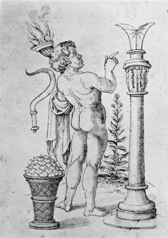 Iunius (month) - Illustration for the month of June, based on the 4th-century Calendar of Filocalus